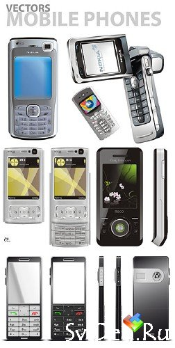 Vector Mobile Phones