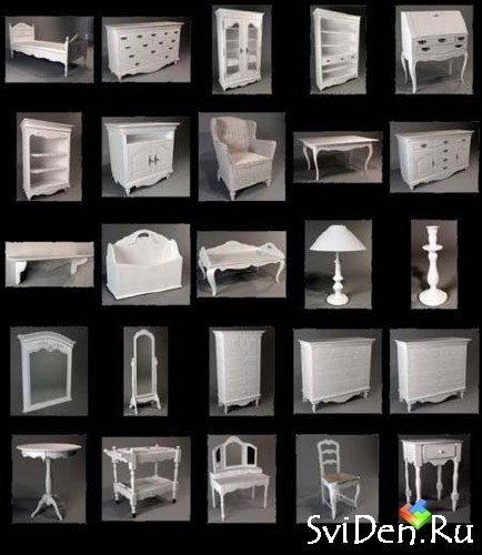 Classic Furniture 3D Models