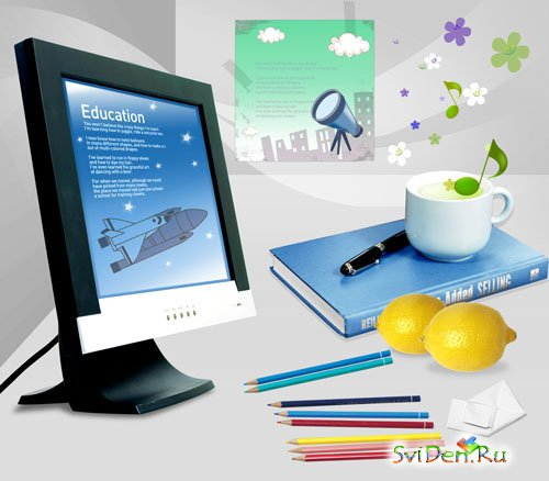 PSD templates - Education