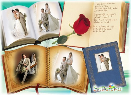 Wedding  frames - Book