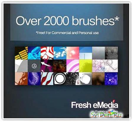 Brushes for Photoshop - Mega Pack