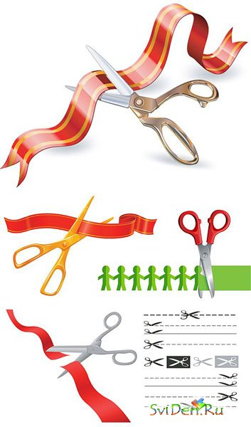Stock Vectors - Scissors