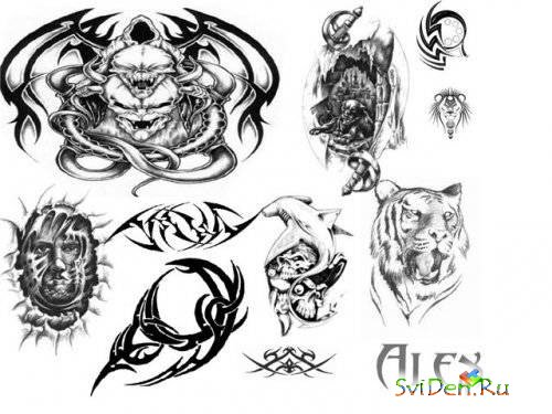 Tattoo Brushes -2