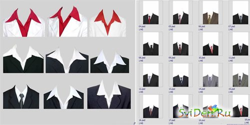 PSD templates  - Suit