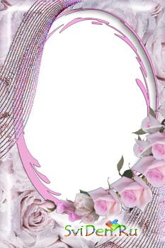 Photoframe - Pink Roses