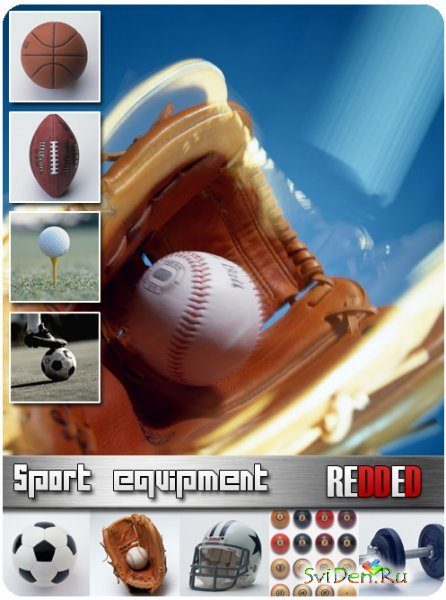 Clipart - Sport equipment