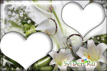 Photoframe lily
