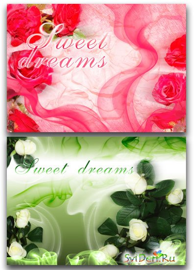 PSD Templates - Sweet Dreams part 1