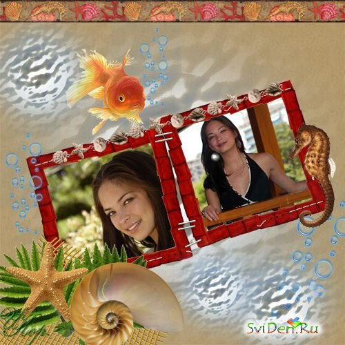 Photoframe - Gold fish