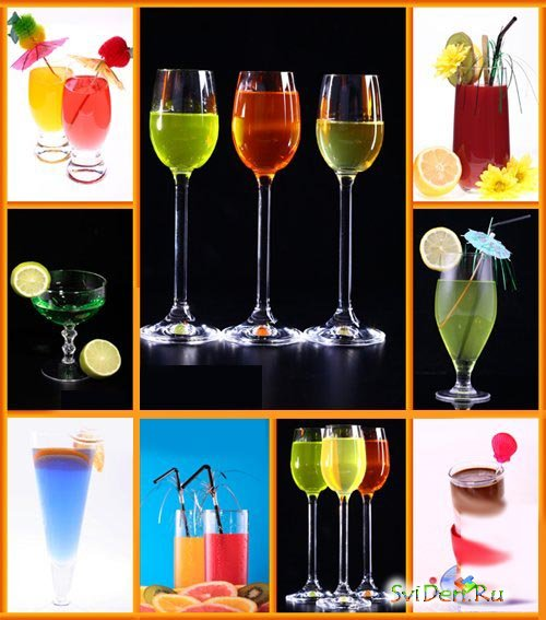 Clipart - Cocktails