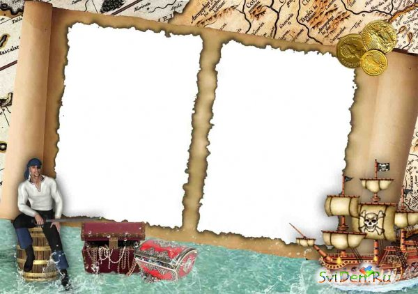Photoframe - Pirate