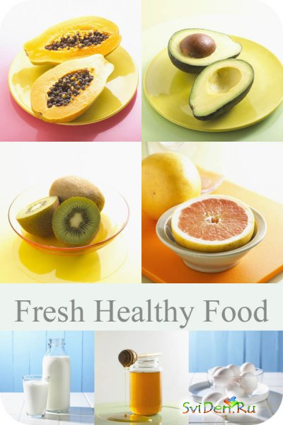 Clipart - Fresh Healthy Food