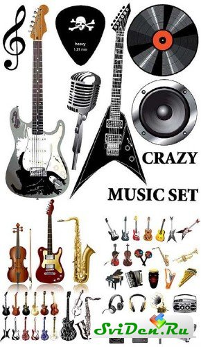 ����������� ������ - Crazy Music Vectors