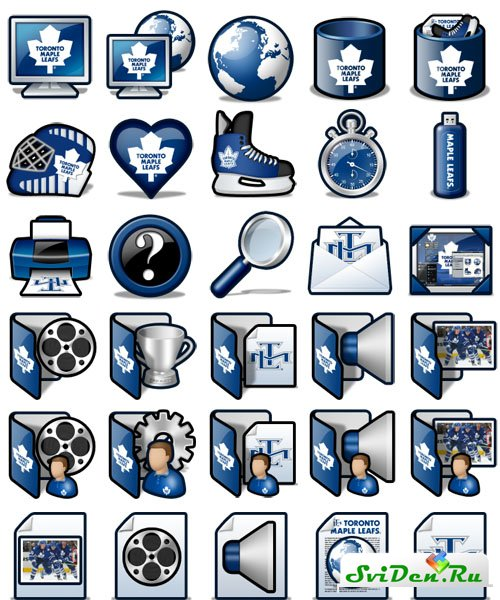Иконки - Toronto Maple Leafs Icon