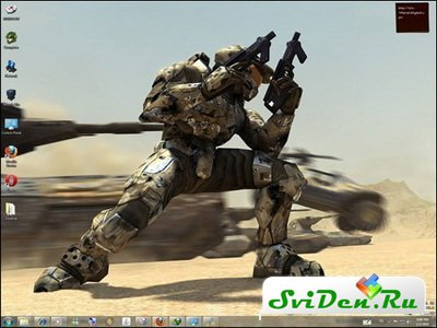 Тема для Windows 7 - Halo