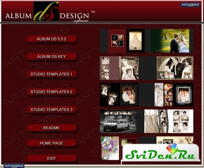 Album DS Design 5.5.2 Software for Photoshop + libraries