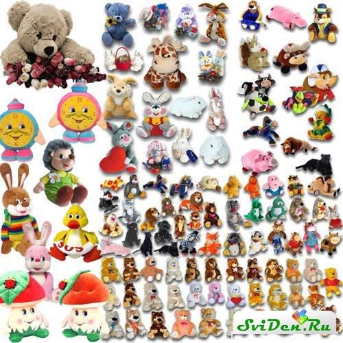 клипарт мягкие игрушки: