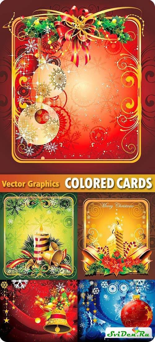 Клипарт шаблоны новогодних открыток