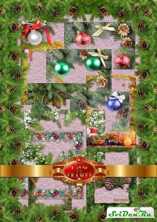 Стили открыток на новый год