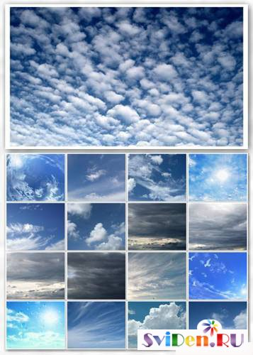 Backgrounds for Photoshop - Skies set