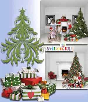 Новогодние открытки высокого качества