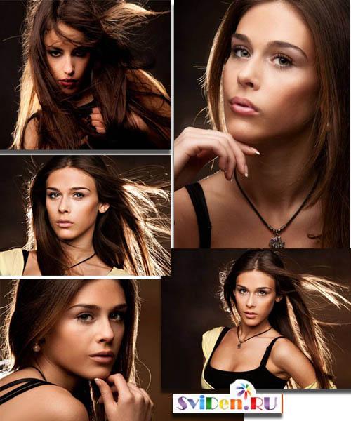 красивые девушки клипарты: