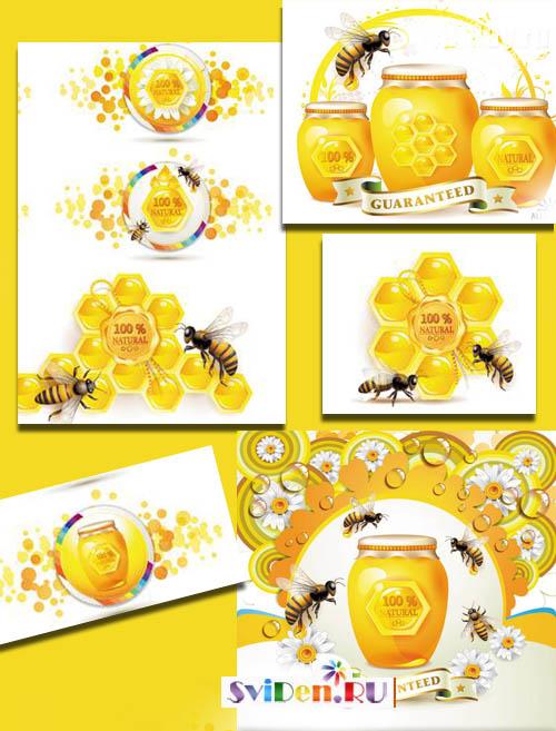 пчела клипарт: