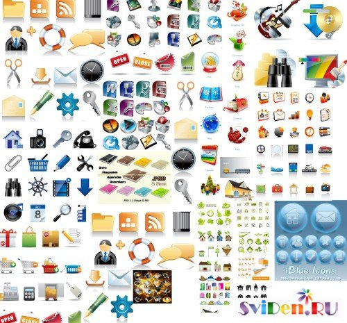 3000+ Web Icons, PNG Files, PSD, Blog Icons