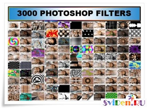 3000  Photoshop Filters