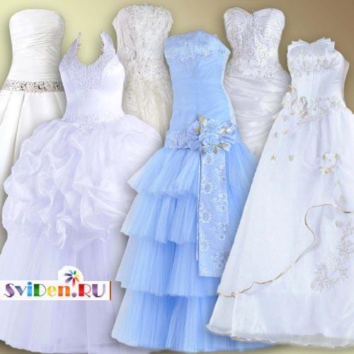 В свадебном платье откровенные платья