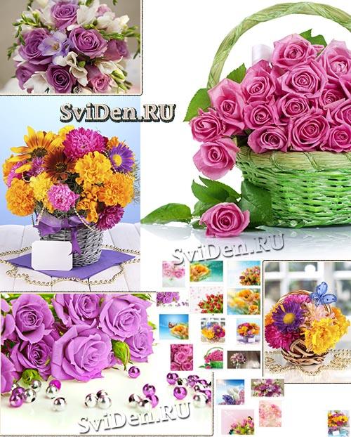 Цветы к празднику - Растровый клипарт скачать бесплатно
